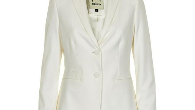 Den klassiske hvide blazer