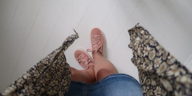 Fede rosa sneakers