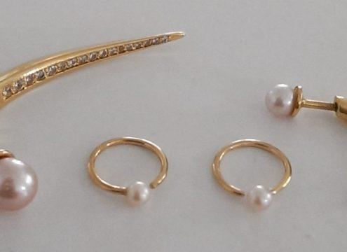 Fine farvede perler til foråret