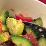 Guacamole-salat