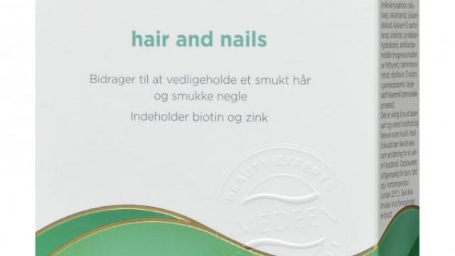 Hvem vil prøve Imedeen Hair and Nails (gratis) sammen med mig?