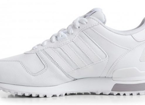 Hvide sneakers – og Adidas – er in