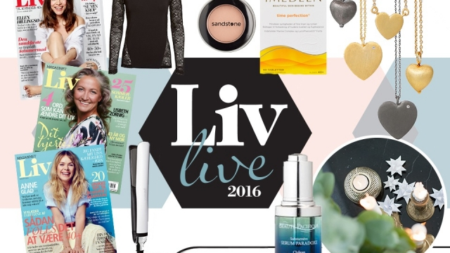 Jeg er på Liv Live 2016 på lørdag!