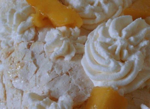 Lav flotte desserter med marengs
