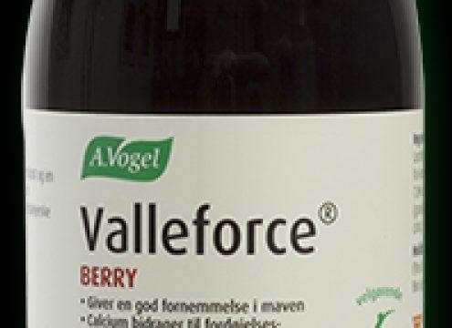 Nyt boost til din smoothie – Valleforce med bærsmag