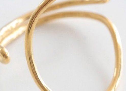 På søndag trækkes vinderen af den lækre Louise Kragh ring fra Shop4her.dk