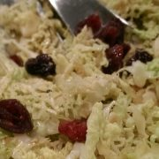 Ultrasund og lækker kålsalat med soyadressing