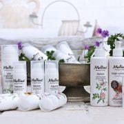 Vind en KÆMPE præmie (34 produkter). Til minde om Margit Mellisa – en frontkæmper inden for økologisk hudpleje