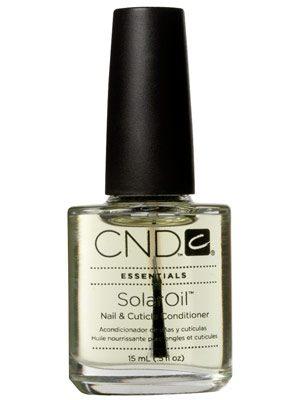 Den bedste negleolie er fra CND og er den prisvindende Solar Oil