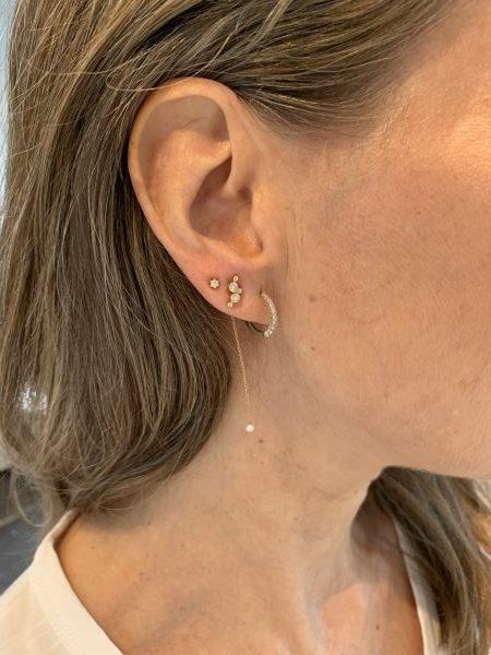 tre huller i øret