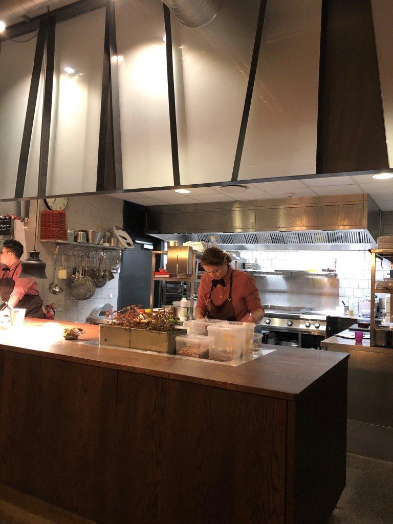 Køkken restaurant Glød