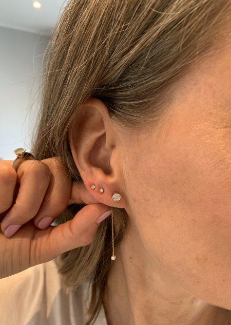 styling af flere huller i øret