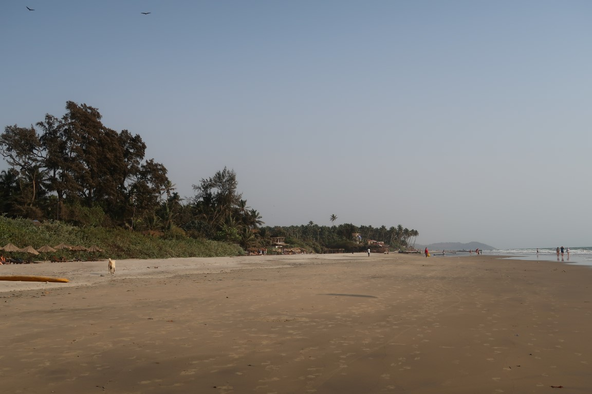 Ashwem beach goa
