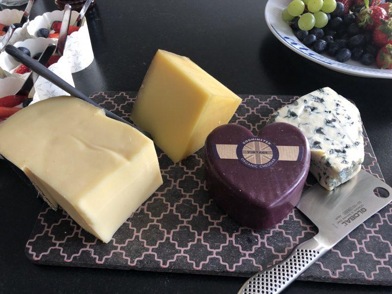 oste til brunch