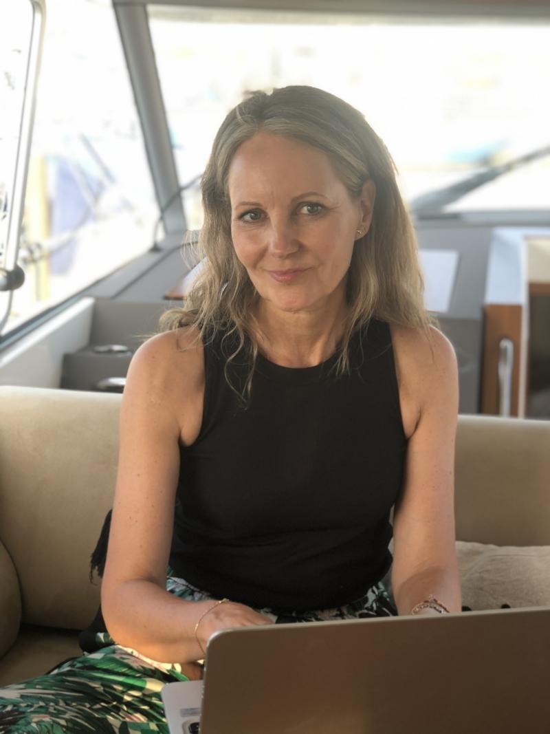 blogger på båd