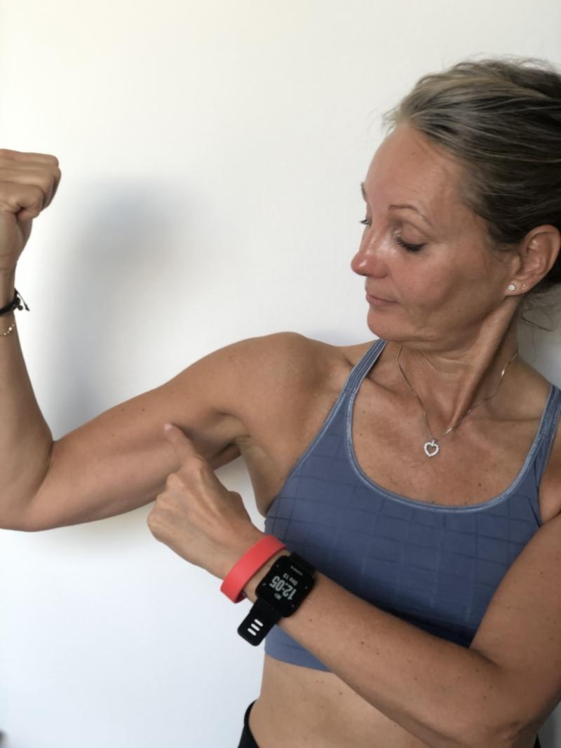 Muskelmasse med alderen