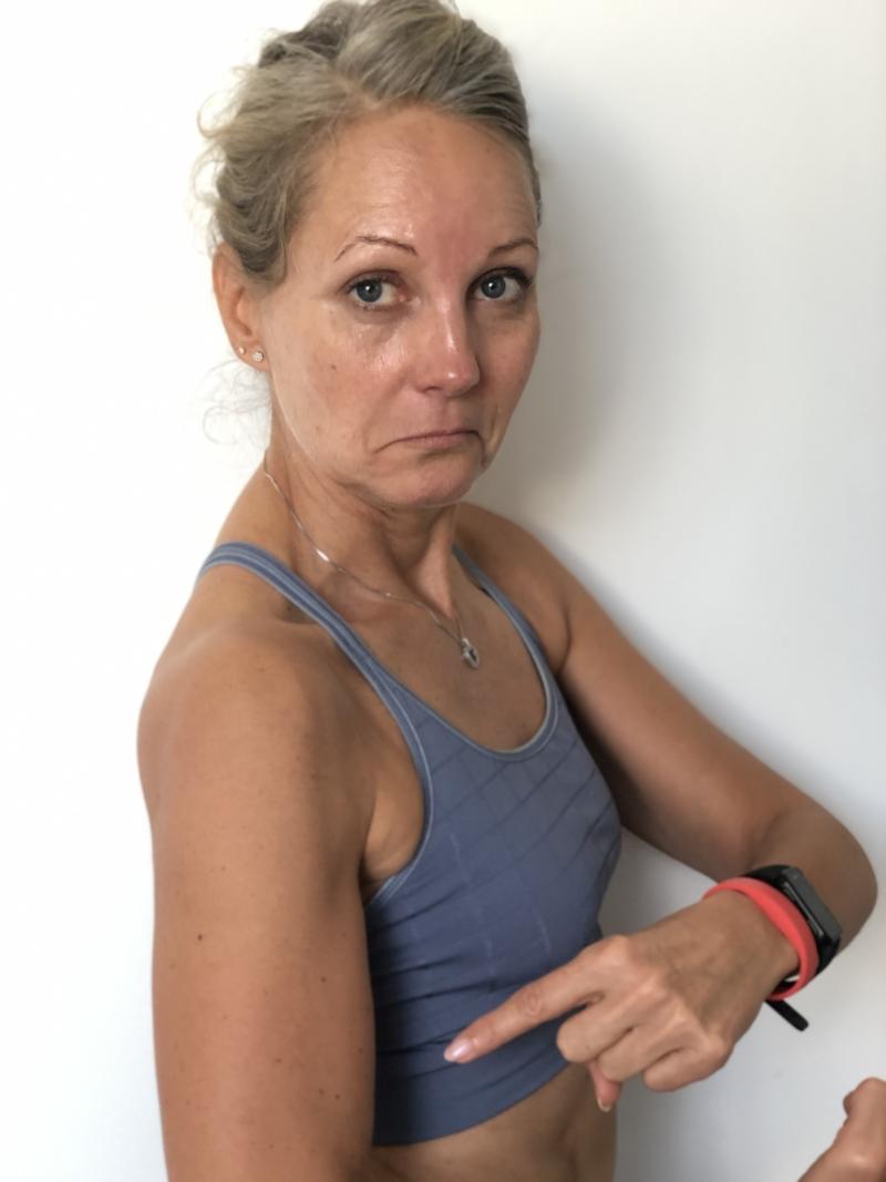 Tab af muskelmasse med årene