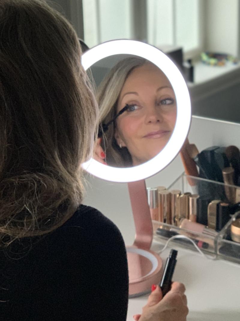 Babyliss makeupspejl med lys