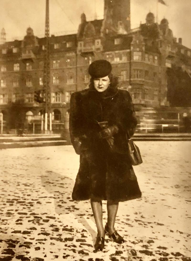 Fransk dame i København