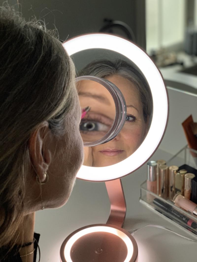 Babyliss makeupspejl med forstørrelse