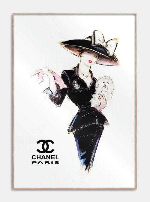 Chanel plakat