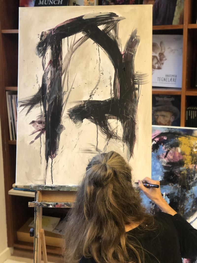 Kursus i abstrakt maleri