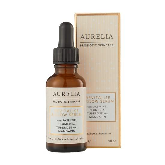 Aurelia er probiotisk hudpleje og serummen er nomineret til Danish Beauty Award