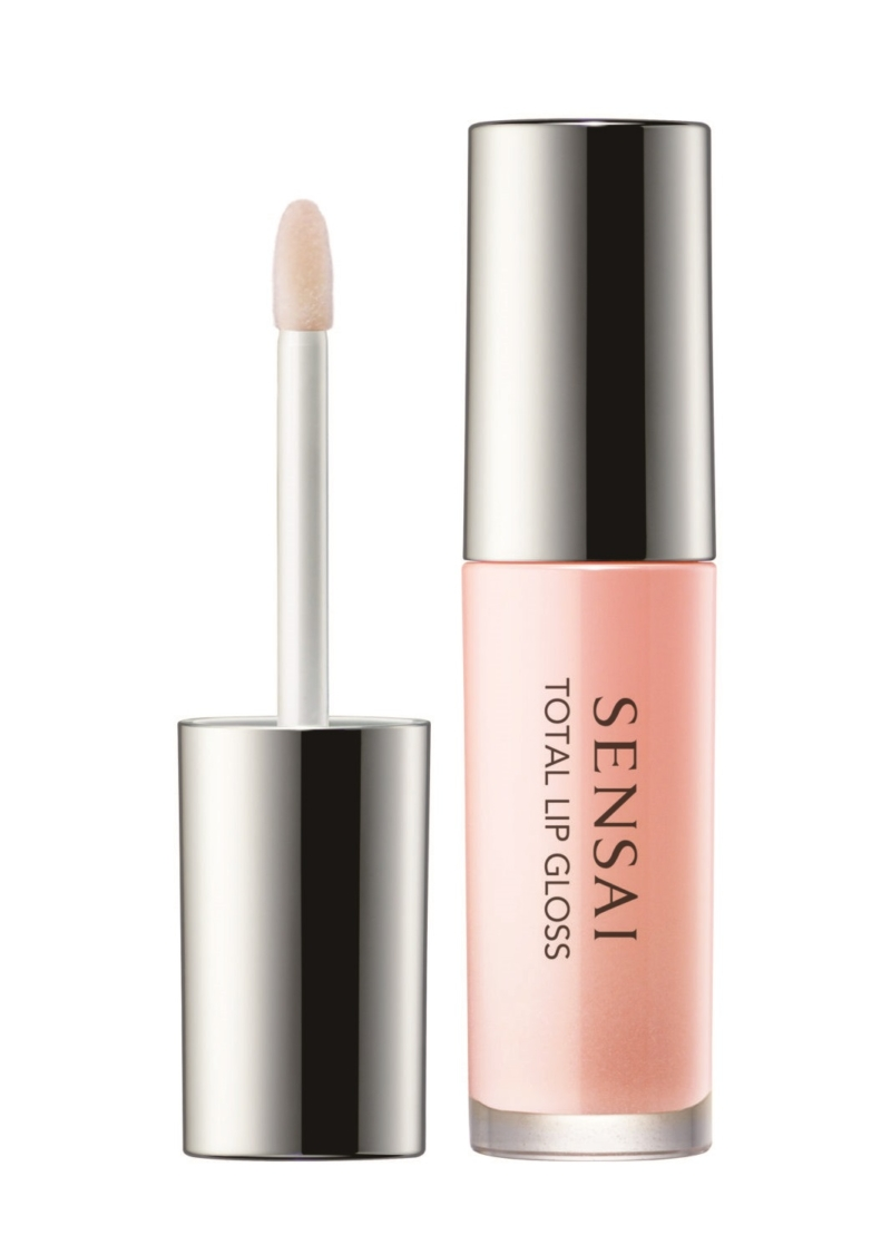 Sensai lip gloss gør læberne fyldige og glansfulde