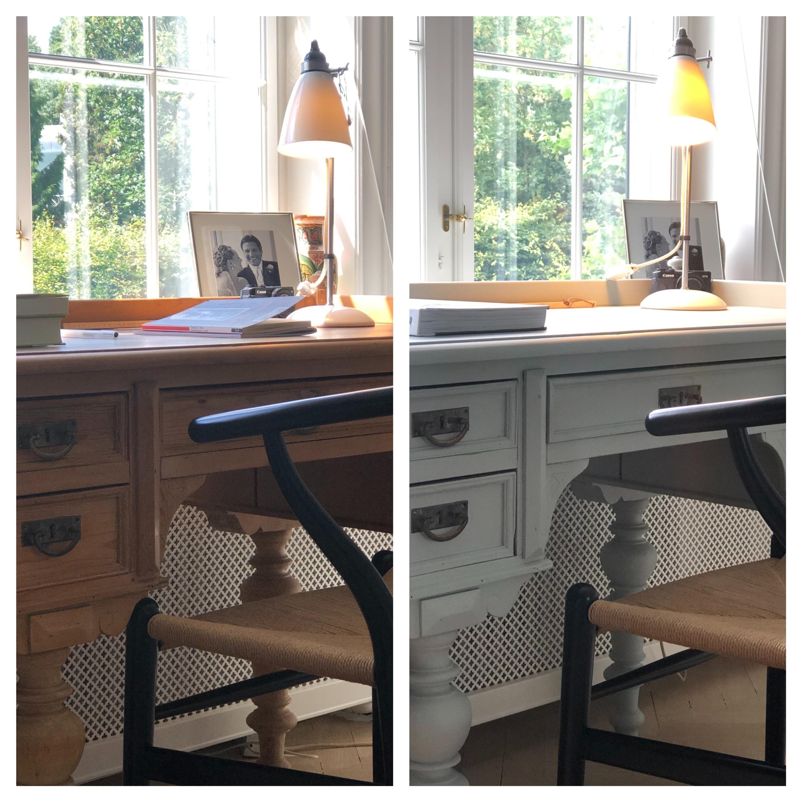 Sådan forvandles et gammelt møbel med maling