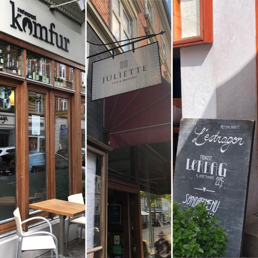 Tre gode restauranter i Aarhus