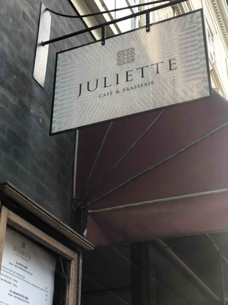 Der bydes på uformel og hyggelig fransk stemning på Juliette i Jægergårdsgade