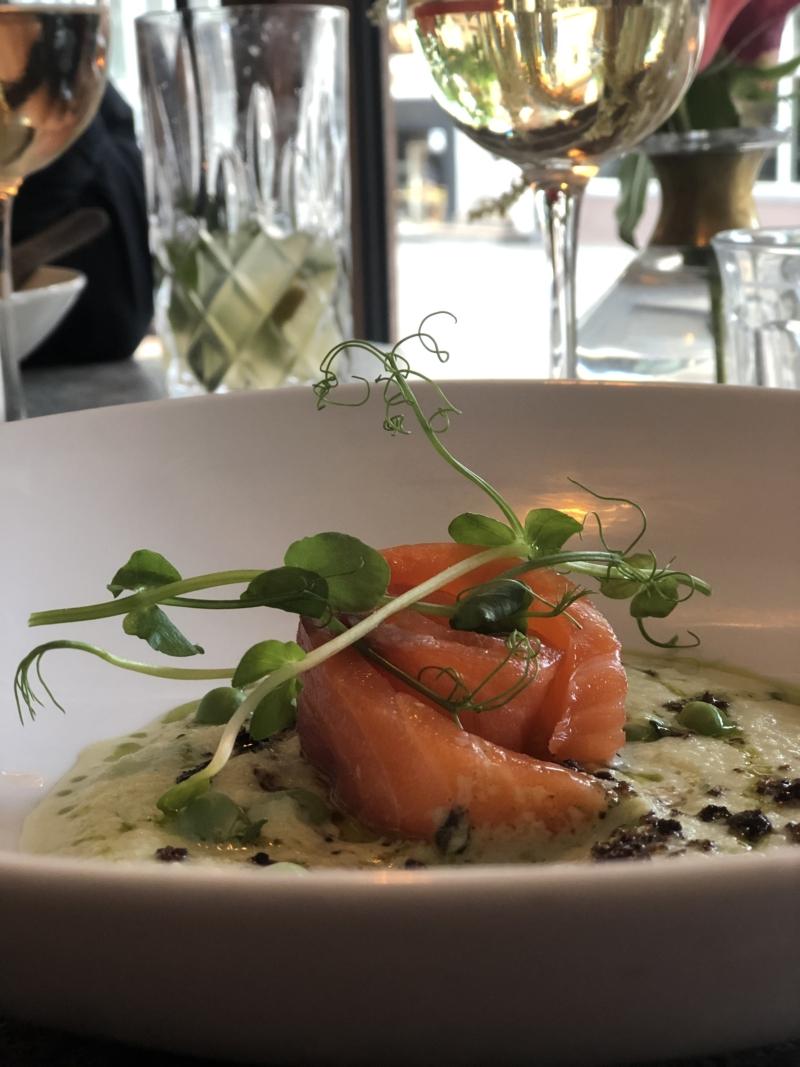 Forret på den charmerende restaurant Juliette i Jægergårdsgade i Aarhus