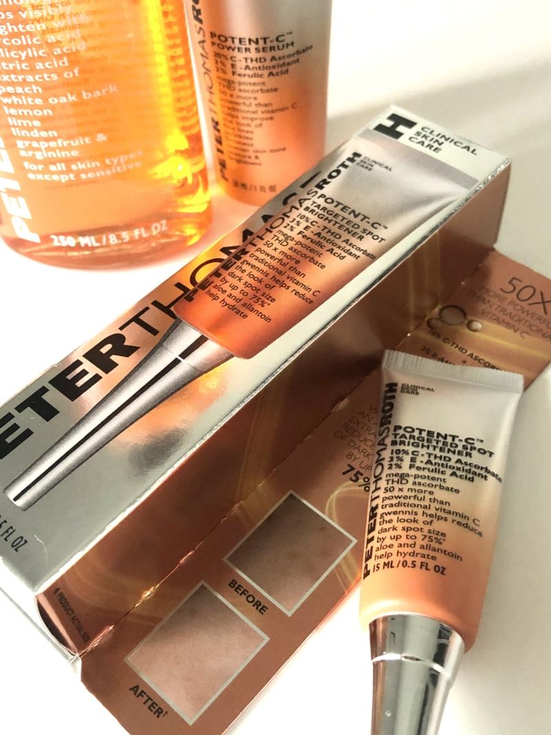 Peter Thomas Roth potent c er effektiv mod pigmentpletter og rynker