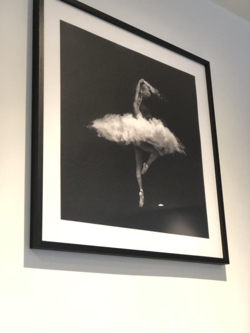 Sort hvid danser plakat fra Posterstore