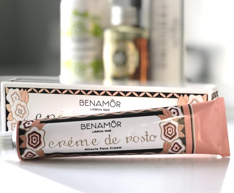 Den ikoniske ansigtscreme Creme de Rosto fra Benamor er ekstremt blødgørende.