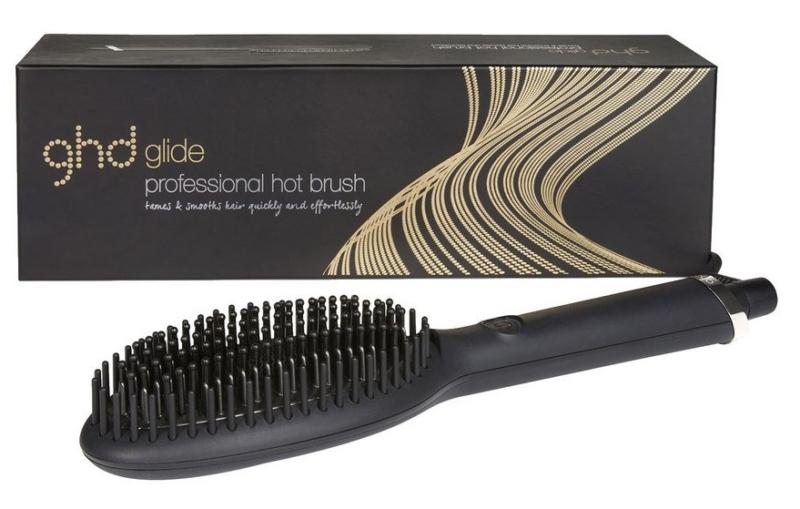 GHD varmebørste til en hurtig og effektiv glatning af håret. Fås med rabat hos Cocopanda.