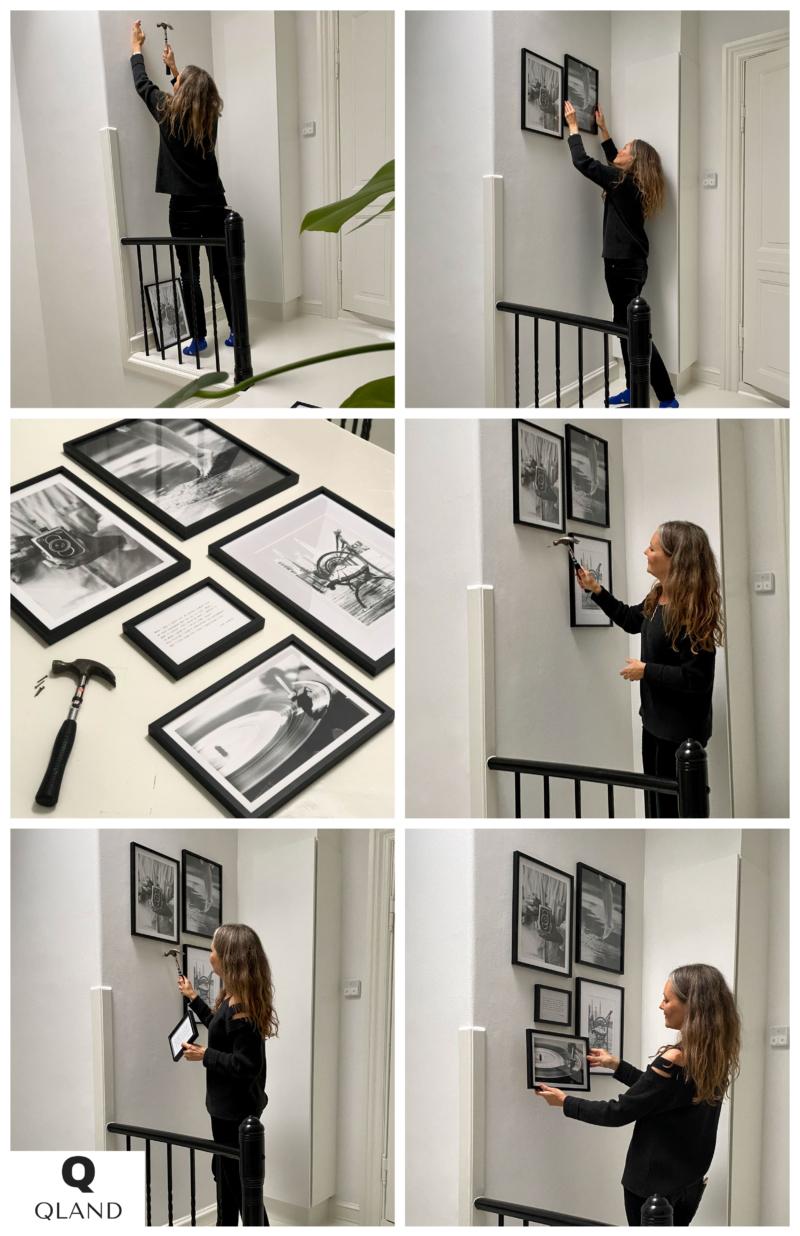 sådan laver du din egen billedvæg med plakater