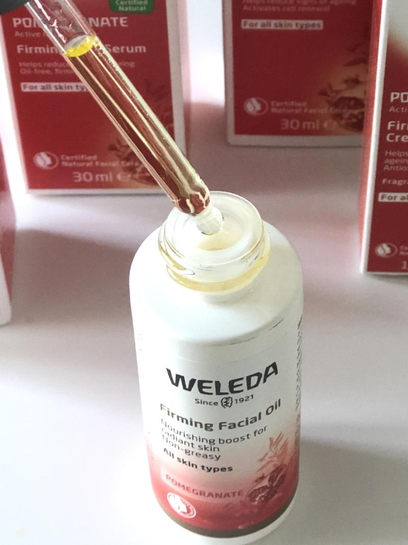 Weleda Pomegranate Firming Facial Oil er en fantastisk ikke-fedtende olie til alle hudtyper.