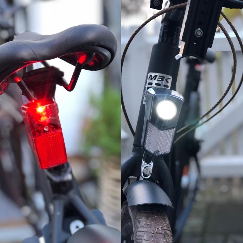 Cykellygter der tænder automatisk og har indbygget tracker fra Findrs.