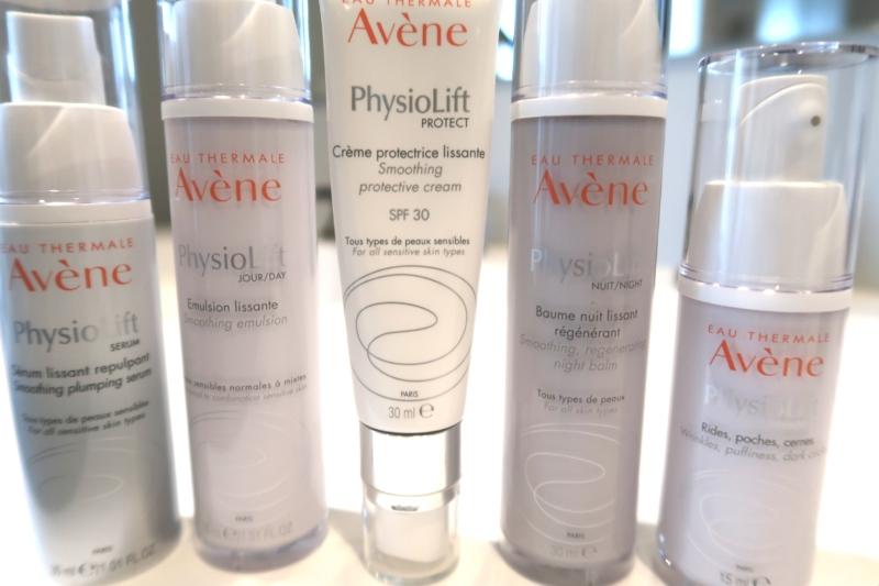 Avene Physiolift serien til moden hud, der mangler fasthed og elasticitet.