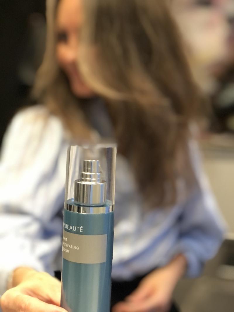 M2 hårserum sætter gang i hårvæksten på 8 uger.