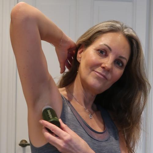 En naturlig deodorant, der er effektiv!