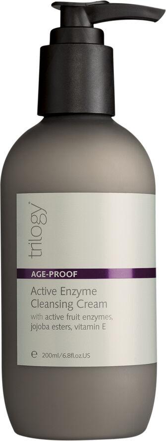 Trilogy enzym rensecreme er en effektiv og peelende rens, der fjerne både makeup og døde hudceller.