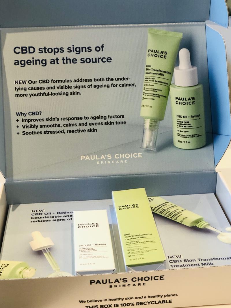 Paula's Choice har lanceret to nye fantastiske produkter med fuldspektret CBD ekstrakt fra hampplanten: Paula's Choice CBD Treatment Milk og CBD Oil + Retinol.
