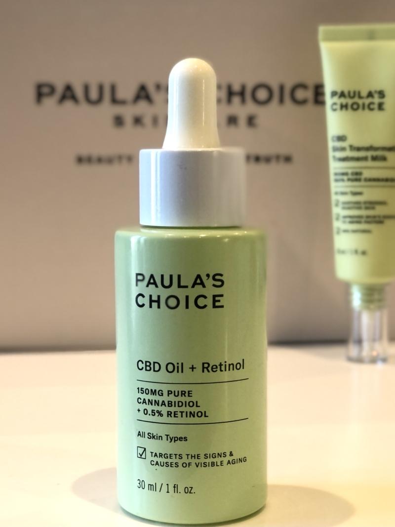 Paula's Choice CBD Oil + Retinol forener det virksomme A-vitamin og det antiinflammatoriske CBD fra hampplanten.