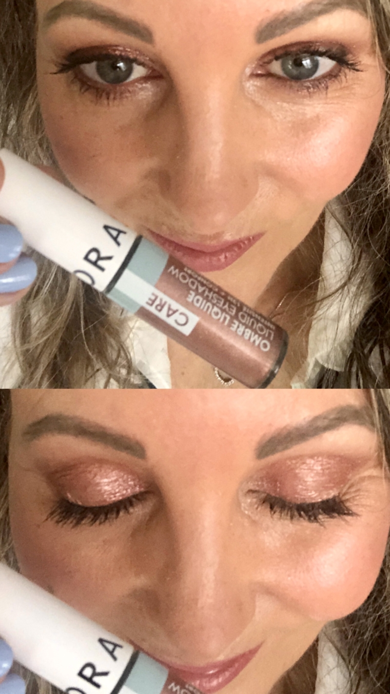 Liquid Eyeshadows fra Sephora i farven Ombre holder hele dagen!