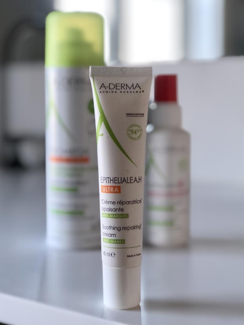 A-Derma Epitheliale AH Ultra-Repairing Cream heler sår og modvirker ar