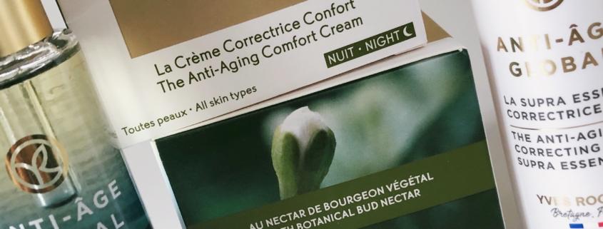Global er Yves Rochers anti-age serie inspireret af Gemmoterapi, videnskaben om planteknopper.