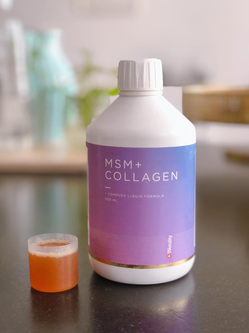 MSM med kollagen II (ikke at forveksle med kollagen I til huden) er en kraftfuld blanding til leddene.