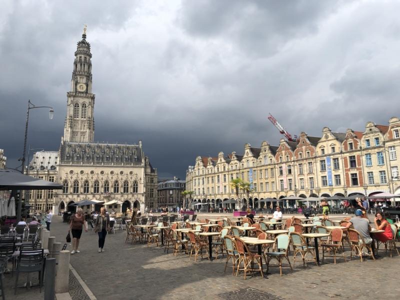 Place des heros i Arras